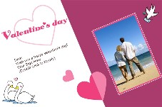 Love & Romantic photo templates Valentines Day Cards (9)