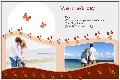 Birthday & Holiday photo templates Valentines Day Cards (9)