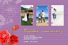 All Templates photo templates Wedding Anniversary Cards