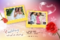 Love & Romantic photo templates Wedding Anniversary Cards