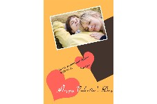 Love & Romantic photo templates Valentine's Day cards 2
