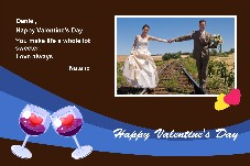 Love & Romantic photo templates Valentine's Day Cards