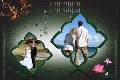 Love & Romantic photo templates Chinese Painting 1