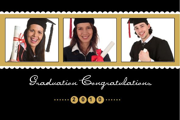 Free Photo Templates Download - Graduation Announcement