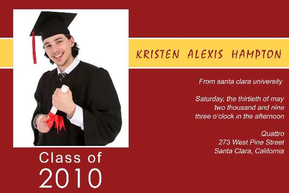 Graduation announcement templates playbestonlinegames for Senior announcement templates free