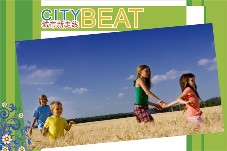 Travel photo templates City Beat